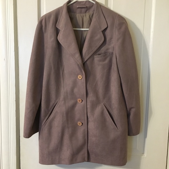 4029d4a844b Forecaster of Boston Jackets   Blazers - Vintage Forecaster of Boston Coat  11 12 Lavender